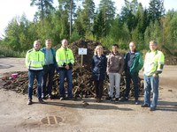 Project meeting for the environmental authorities and visit to the composting site on the 9th of September, 2015
