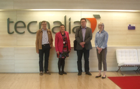 Project meeting in Spain, 15 April 2015